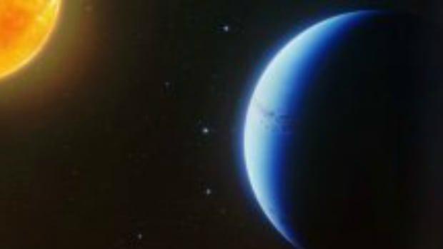 Exoplanet cloud free