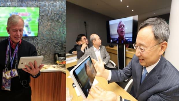 Samsung 5G demo