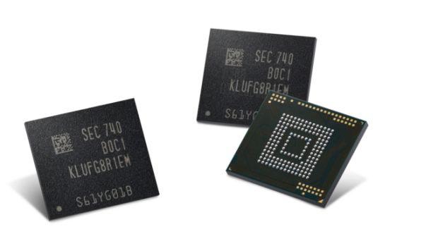 Samsung 512-Gigabyte Universal Flash Storage