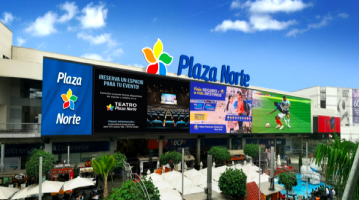 Peru, is now home to South America's largest digital out-of-home LED signage.