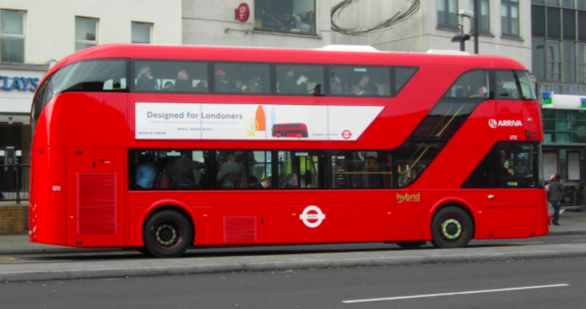 In a first, London's buses are going to be powered by biofuels.